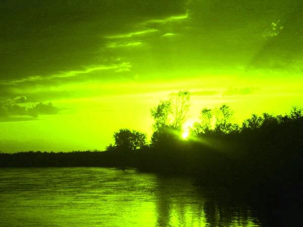 Картинка Золотой рассвет